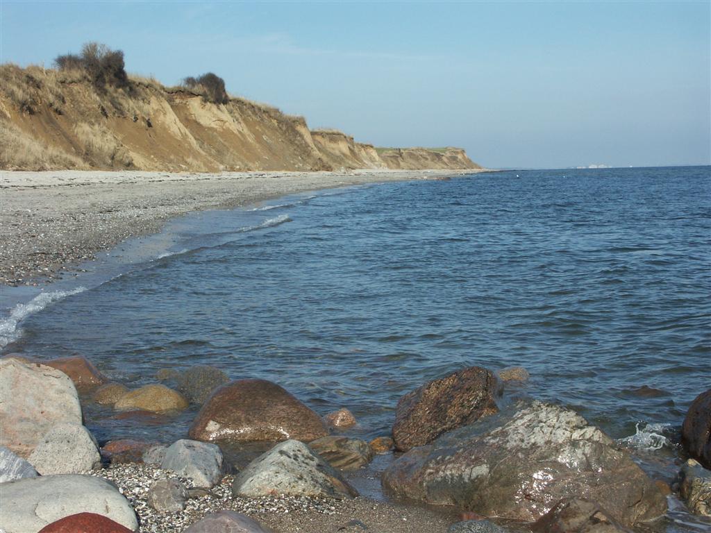 Ostsee-Steilküste bei Stohl