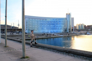 Heringsangeln in Kiel an der Hörn