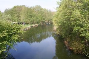 Blick von der Brücke in Klein Quassow Richtung Westen