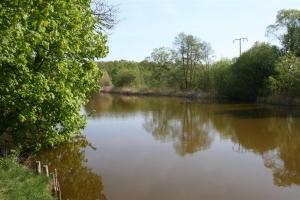 Der Kammerkanal nahe der Ortschaft Lindenberg