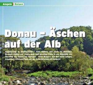 Donau - Äschen auf der Alb (3/2007)