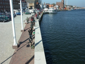 Angelplatz Kappeln Hafen an der Schlei
