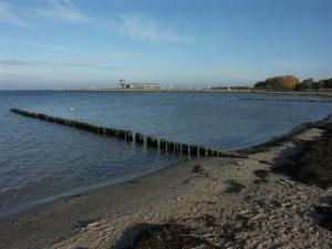 Angelplatz Mole Glowe auf Rügen