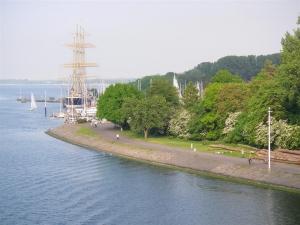 Angelplatz Am Priwallhafen in Travemünde