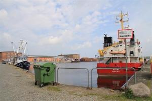 Angelplatz an der Unterwarnow – Fischereihafen Rostock