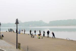 Heringsangeln an der Unterwarnow – Stadthafen Rostock