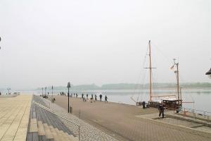 Angelplatz an der Unterwarnow – Stadthafen Rostock