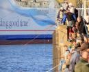 Heringsangeln in Kiel am Germaniahafen
